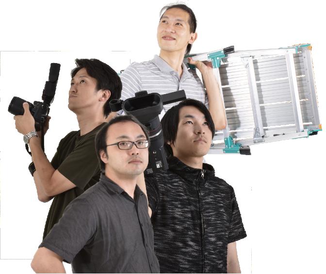 イチコン動画班4人の写真
